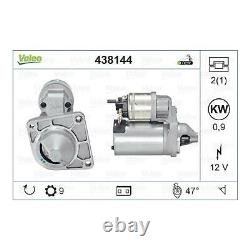 Valeo Starter Motor 438144 Véritable Qualité Supérieure