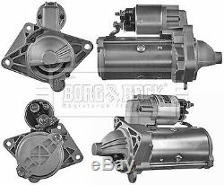 Vauxhall Movano B 2.3d Starter Motor 2010 B & B Véritable Remplacement Top Qualité