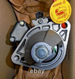 Véritable Bosch 0986017661 Moteur De Démarrage Nissan Primera, Pulsar, Almera, Anlasser