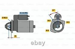 Véritable Bosch Starter Motor Pour Fiat Ducato Gen2 2.3l Diesel F1ae 01/05 12/07
