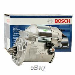 Véritable Démarreur Bosch Pour Essence Isuzu Rodeo Tfs 2,6 L (4ze1) 1989 À 1993