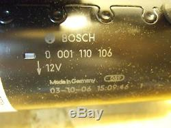 Vw 1.9 2.0 Td Diesel Démarreur-9 Dents Cw 1997-2005 Withat-genuine Bosch
