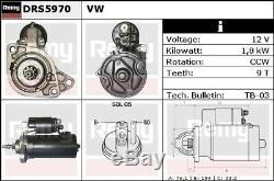 Vw Golf Mk3 2.8 Démarreur Du Moteur 92 À 97 Atm Aaa 4 Vitesse Remy Qualité Volkswagen