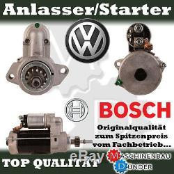 Vw Phaeton Touareg 5.0 V10 R 10 Tdi 4motion Anlasser Starter 3 Kw Bosch Original